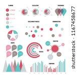 ads report visualisation... | Shutterstock .eps vector #1167458677