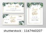 vector romantic wedding... | Shutterstock .eps vector #1167460207