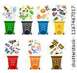 reduce  reuse  recycle waste.... | Shutterstock .eps vector #1167467017
