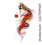 vector  stylish  original hand... | Shutterstock .eps vector #1167509464