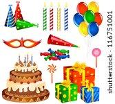vector illustration of... | Shutterstock .eps vector #116751001