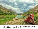landscape of the euphrates...   Shutterstock . vector #1167593137