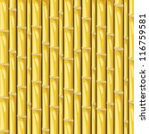 yellow bamboo vector background | Shutterstock .eps vector #116759581