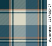 gray blue check plaid seamless... | Shutterstock . vector #1167603427