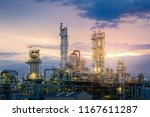 oil and gas refinery plant or... | Shutterstock . vector #1167611287