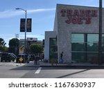 los angeles  july 21  2018 ... | Shutterstock . vector #1167630937