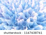 abstract colourful voxel... | Shutterstock . vector #1167638761