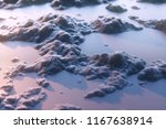 the mountains of voxel.abstract ... | Shutterstock . vector #1167638914