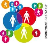 social net | Shutterstock .eps vector #116765419