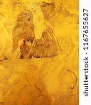 dirty metal yellow texture.... | Shutterstock . vector #1167655627