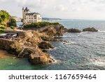 biarritz  france. the villa...   Shutterstock . vector #1167659464