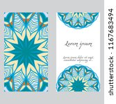 invitation or card template... | Shutterstock .eps vector #1167683494