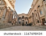 split  croatia  15 feb 2018  ... | Shutterstock . vector #1167698434