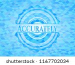 accurately realistic light blue ... | Shutterstock .eps vector #1167702034