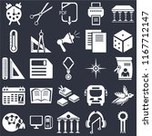 set of 25 icons such as medal ...