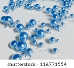 3d bubbles   Shutterstock . vector #116771554