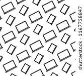 line electronic laptop... | Shutterstock .eps vector #1167738847