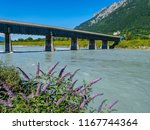 old wooden rhine bridge from... | Shutterstock . vector #1167744364