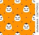seamless vector pattern on... | Shutterstock .eps vector #1167745411