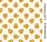 seamless vector pattern on... | Shutterstock .eps vector #1167745441