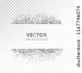 sparkling glitter border  frame.... | Shutterstock .eps vector #1167746074