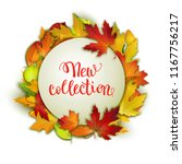 new autumn collection... | Shutterstock .eps vector #1167756217