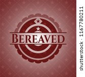 bereaved red emblem | Shutterstock .eps vector #1167780211