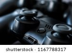 close up of black video games... | Shutterstock . vector #1167788317