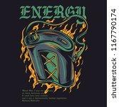 energy recharge illustration   Shutterstock .eps vector #1167790174