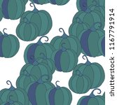 halloween background with... | Shutterstock .eps vector #1167791914