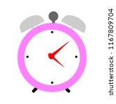 clock icon   vector clock... | Shutterstock .eps vector #1167809704