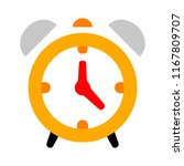 clock icon   vector clock... | Shutterstock .eps vector #1167809707