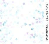 snowflakes confetti  falling...   Shutterstock .eps vector #1167817141