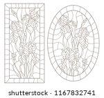 a set of contour illustrations...   Shutterstock .eps vector #1167832741
