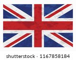flag of the united kingdom. the ... | Shutterstock .eps vector #1167858184