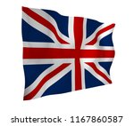 waving flag of the great... | Shutterstock . vector #1167860587