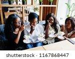 four african american girls...   Shutterstock . vector #1167868447