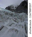 franz josef glacier  new...   Shutterstock . vector #1167889207