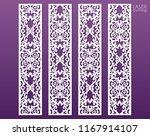 laser cut decorative lace... | Shutterstock .eps vector #1167914107