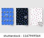 retro geometric covers design....   Shutterstock .eps vector #1167949564
