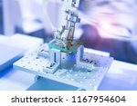 soldering iron tips of robotic... | Shutterstock . vector #1167954604
