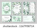 eucalyptus design. wedding... | Shutterstock .eps vector #1167958714