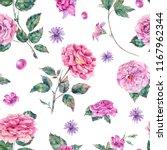 watercolor decorative vintage... | Shutterstock . vector #1167962344