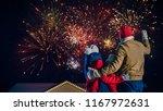 happy new year celebration ...   Shutterstock . vector #1167972631