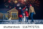 happy new year celebration ... | Shutterstock . vector #1167972721
