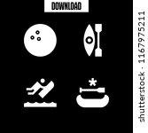 recreational icon. 4... | Shutterstock .eps vector #1167975211