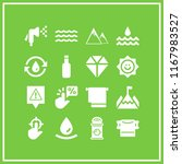 clear icon. 16 clear vector set.... | Shutterstock .eps vector #1167983527