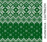 winter sweater fairisle design. ...   Shutterstock .eps vector #1167986254