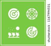 antenna icon. 4 antenna vector... | Shutterstock .eps vector #1167994531