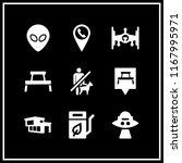 area icon. 9 area vector set.... | Shutterstock .eps vector #1167995971